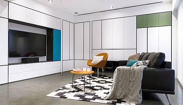 edHOUSE 機能櫥櫃 輕裝修 系統櫃 系統板材 收納 CONCEPT 北歐建築 BoConcept  北歐概念 北歐 客廳 系統櫃設計 室內設計 系統家具