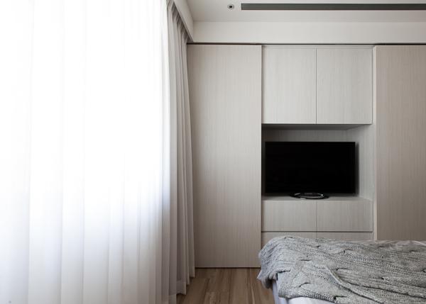 edHOUSE 機能櫥櫃 輕裝修 系統櫃 系統板材 裝潢設計 系統家具 客製化 臥室 收納  系統櫃設計 臥房