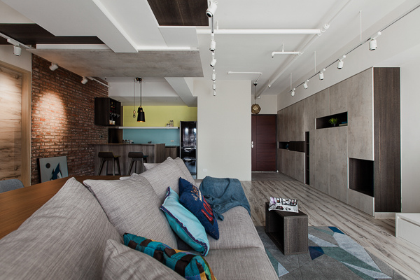 edHOUSE 機能櫥櫃 輕裝修 系統櫃 系統板材 裝潢設計 系統家具 客製化 收納 北歐  北歐建築 客廳 工業風 輕裝修設計