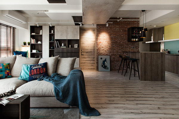edHOUSE 機能櫥櫃 輕裝修 系統櫃 系統板材 裝潢設計 系統家具 客製化 收納 北歐  北歐建築 開放式客廳 工業風 輕裝修設計