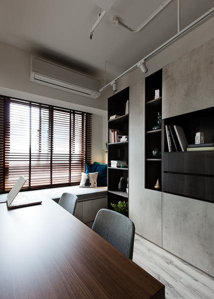 edHOUSE 機能櫥櫃 輕裝修 系統櫃 系統板材 裝潢設計 系統家具 客製化 收納 北歐  北歐建築 工業風 書房 輕裝修設計