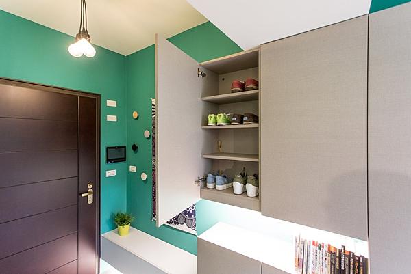 edHOUSE 機能櫥櫃 輕裝修 系統櫃 系統板材 CONCEPT 北歐建築 北歐 客製化 裝潢設計 收納 室內設計 玄關 鞋櫃