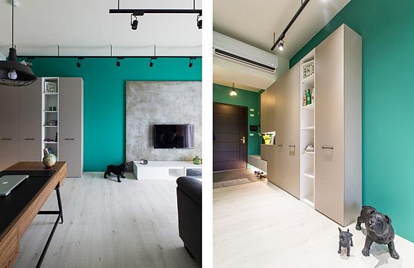 edHOUSE 機能櫥櫃 輕裝修 系統櫃 系統板材 CONCEPT 北歐建築 北歐 客製化 裝潢設計 收納 室內設計 玄關 客廳