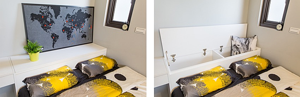 edHOUSE 機能櫥櫃 輕裝修 系統櫃 系統板材 CONCEPT 北歐建築 北歐 客製化 裝潢設計 收納 室內設計 臥房