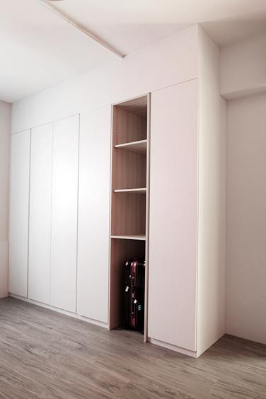 edHOUSE 機能櫥櫃 輕裝修 系統櫃 系統板材 裝潢設計 系統家具 客製化 日和設計 收納 簡約 臥房 共享宅  輕裝修設計 櫥櫃