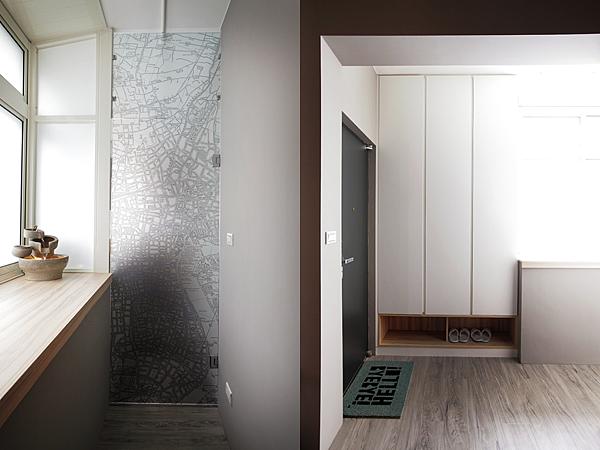 edHOUSE 機能櫥櫃 輕裝修 系統櫃 系統板材 裝潢設計 系統家具 客製化 日和設計 收納 簡約 前陽台  共享宅  輕裝修設計