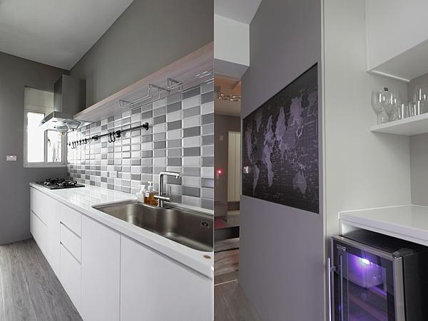 edHOUSE 機能櫥櫃 輕裝修 系統櫃 系統板材 裝潢設計 系統家具 客製化 日和設計 收納 簡約 廚房 共享宅  輕裝修設計 櫥櫃