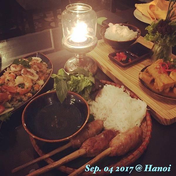 [[越南//美食]] 河內 - Marvel Restaurant,融合西式與越式的精緻餐廳