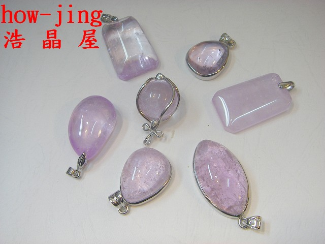 紫鋰輝石墜