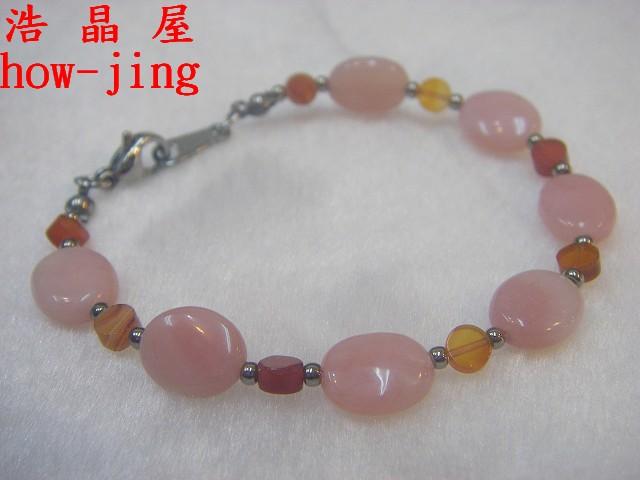 粉紅蛋白石鍊