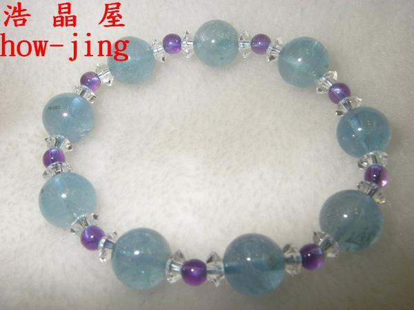 海水藍寶~手珠