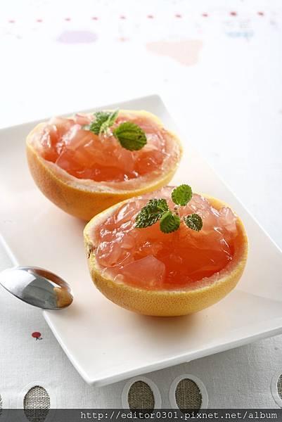 柚香果皮凍.JPG