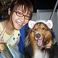 可愛的人兒+可愛的狗兒