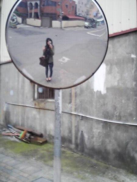 廣角鏡的我