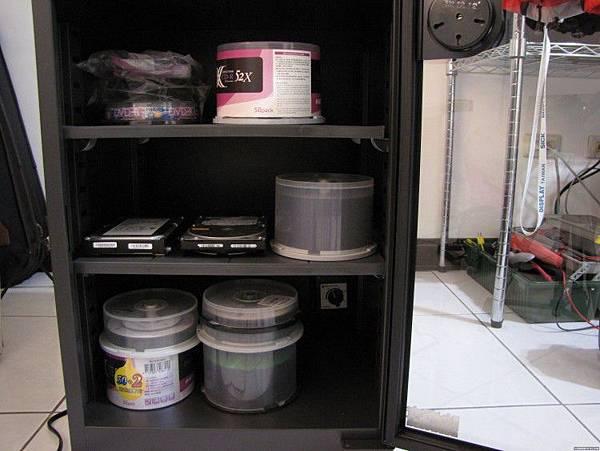 收藏光碟用防潮箱
