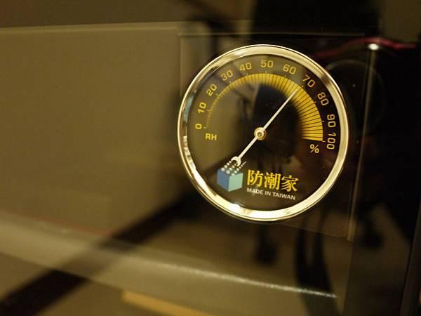 防潮家濕度計