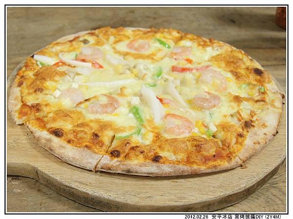 吃披薩06