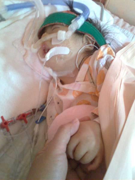 妹妹在加護病房04212010
