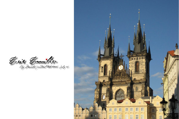 布拉格的地標