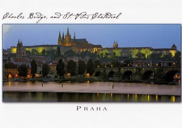 布拉格(Praha) 明信片