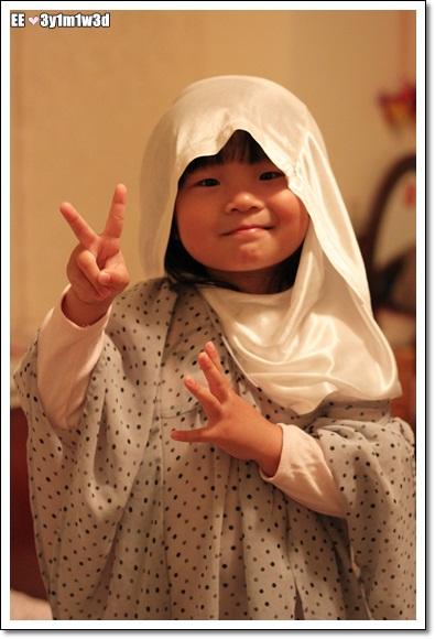 穿馬迷衣服當阿拉伯人