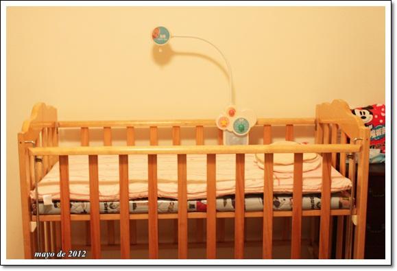 組好嬰兒床了