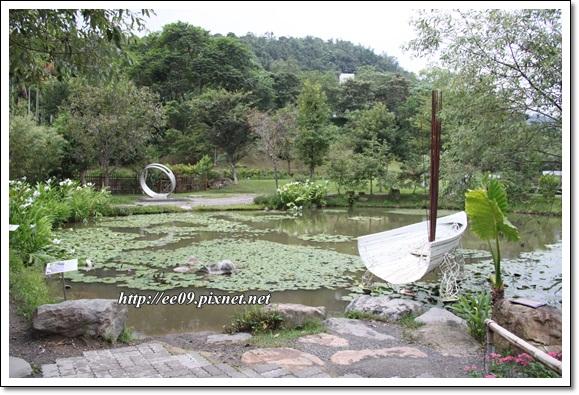 美麗的池景