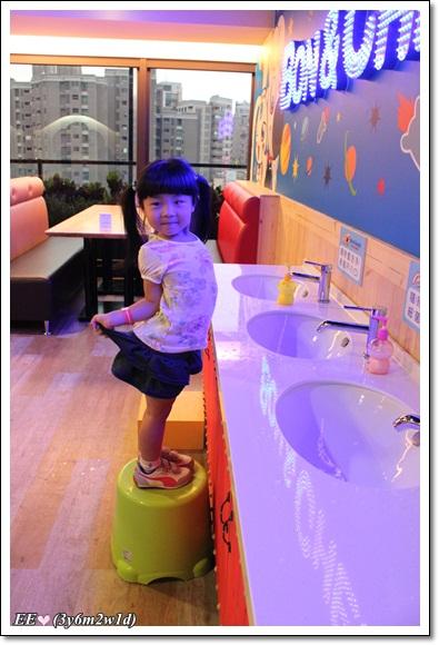 小朋友洗手區