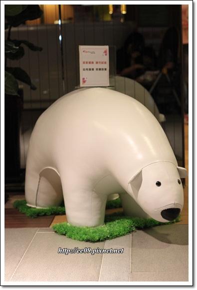 可愛小白熊