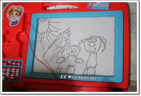 EE在阿嬤家畫的
