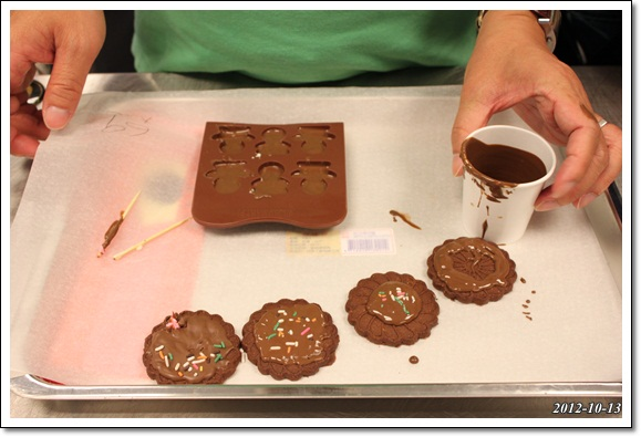 E拔的巧克力餅乾