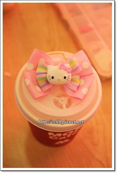 Emi 作的Kitty髮夾-1