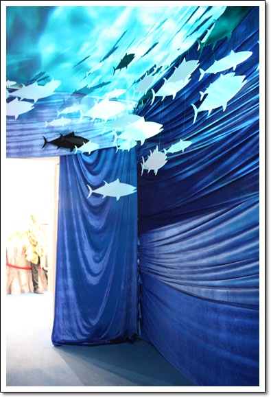 藍色大海與魚