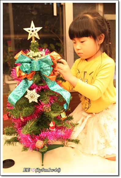 EE組耶誕樹
