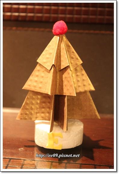 Emi耶誕樹折紙