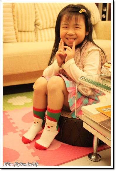 耶誕老公公襪