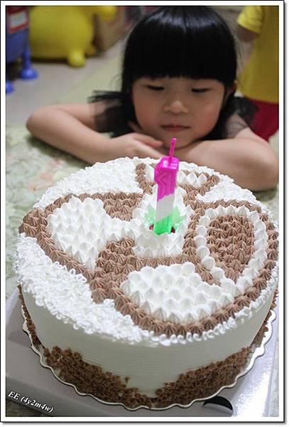 看底迪的蛋糕