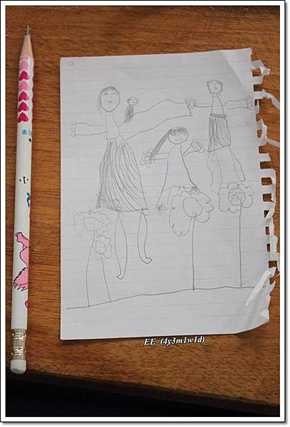 EE在薰衣草畫的