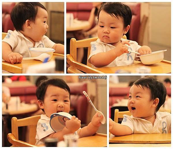 坐兒童外食很忙的.jpg