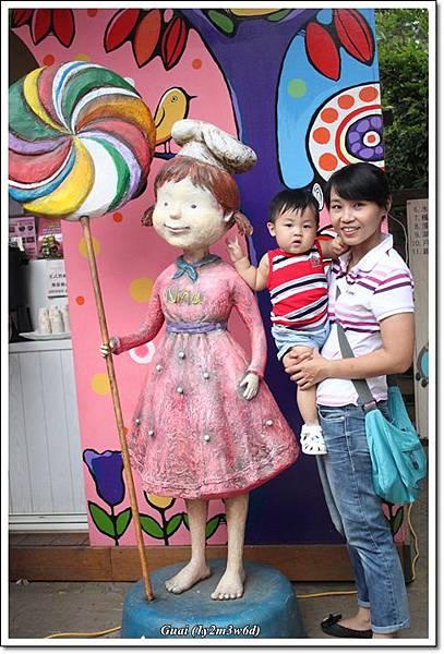 母子與巧克力nina.JPG