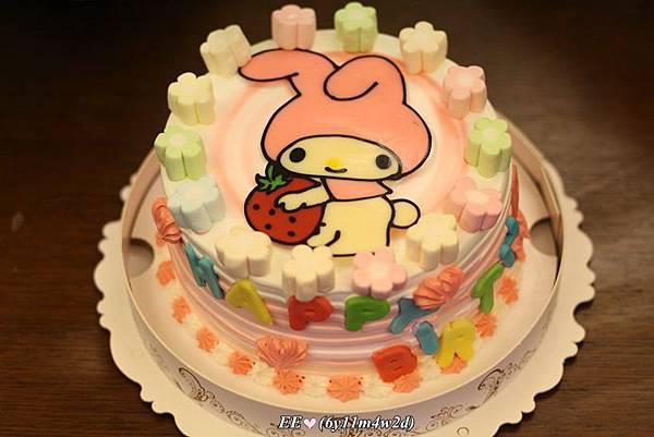 EE7歲蛋糕(6吋美樂蒂750).JPG