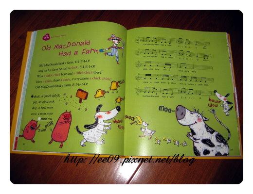 英文童謠書內頁