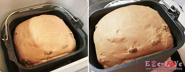 [9/200] 黑糖五穀豆葡萄速成吐司