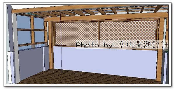 客戶用後院前方加隔網-4