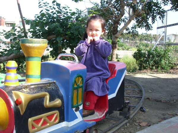 情人橋公園的小火車
