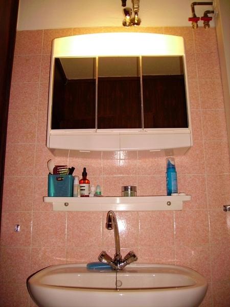 整理好的洗臉台