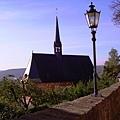 從城堡往下看路德教堂