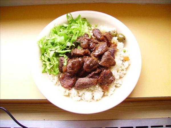 香蒜牛肉飯