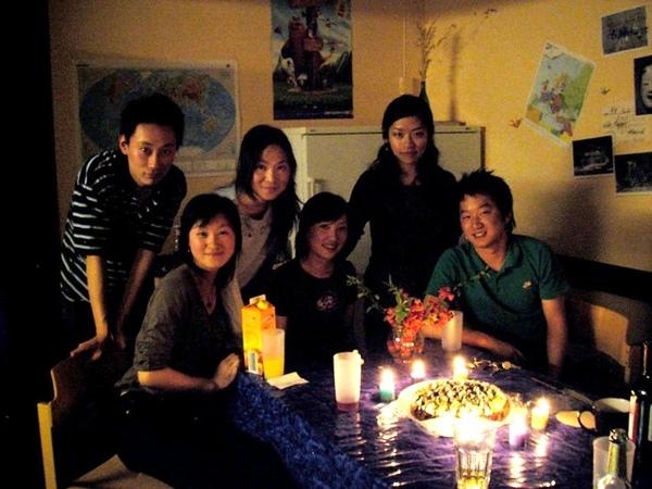 張瑩姑娘生日,全員到齊呀