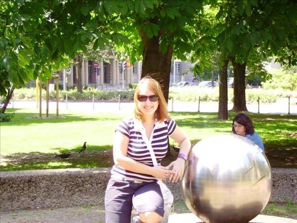Maria im Park